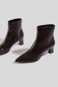 Botine din piele naturala Inky Ankle Boots [3]