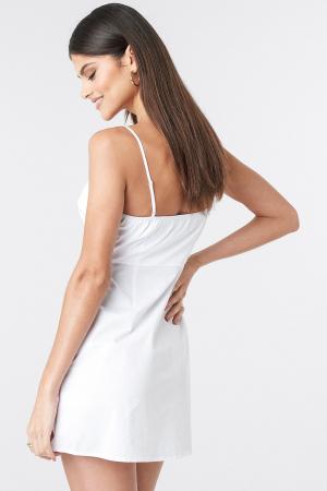 Rochie Strap Mini Cotton1