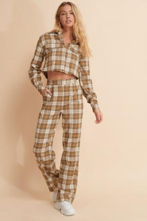 Pantaloni Checkered [0]