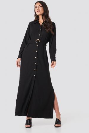 Rochie  Belted Shirt Maxi [0]