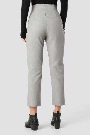 Pantaloni Paper Waist Straight [2]