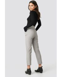 Pantaloni Paper Waist Straight [1]