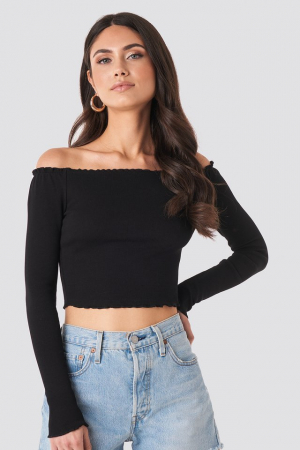 Bluza Babylock Off Shoulder0