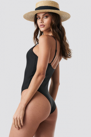 Basic Front Ruched Swimsuit1
