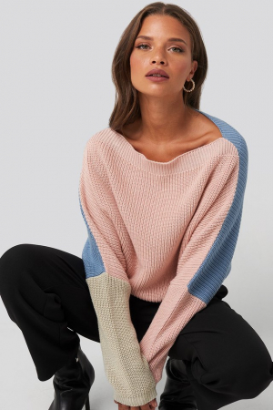 Pulover Batwing Cropped Robbed0