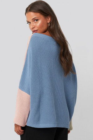 Pulover Batwing Cropped Robbed1