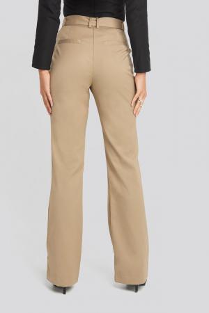 Pantaloni Belted Bootcut Pants [2]