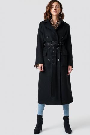Palton Belted Coat [0]