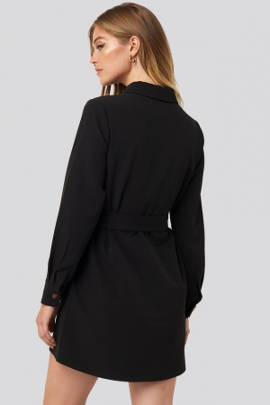 Rochie Belted Straight Fit Shirt [1]