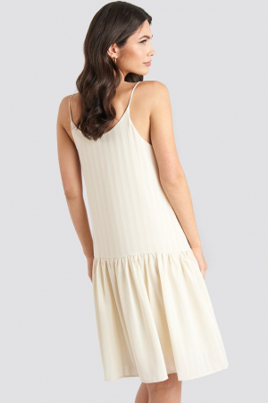 Rochie Bottom Flounce Striped1