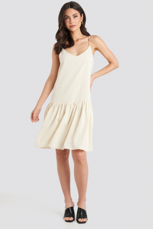 Rochie Bottom Flounce Striped2