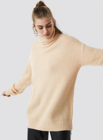 Pulover Chunky Oversized Polo0