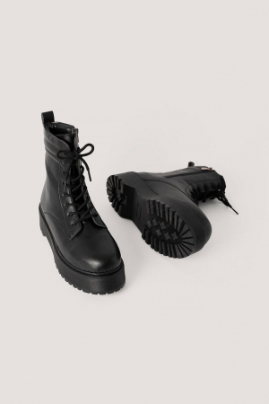 Ghete Chunky Rubber Sole Boots [1]