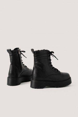 Ghete Chunky Rubber Sole Boots [3]