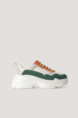 Sneakers Color Block Trainers [0]