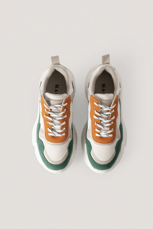 Sneakers Color Block Trainers [1]