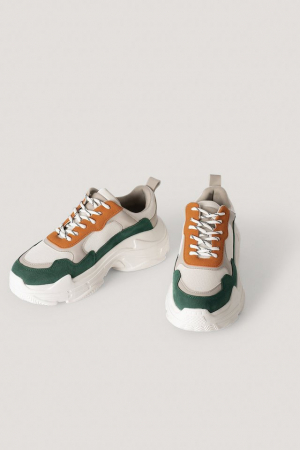 Sneakers Color Block Trainers [2]