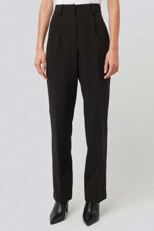 Pantaloni Creased Mid Rise [1]