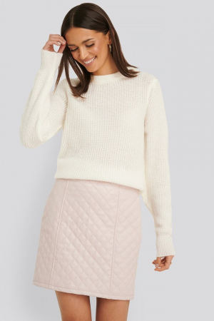 Pulover Crew Neck Knitted Sweater [0]