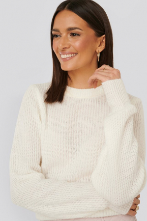 Pulover Crew Neck Knitted Sweater [3]