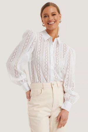 Camasa Crochet Long Sleeve Shirt [0]