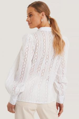 Camasa Crochet Long Sleeve Shirt [1]
