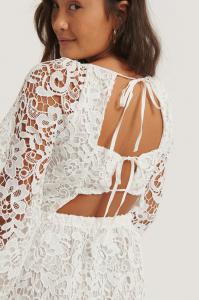 Rochie Crochet Open Back [2]