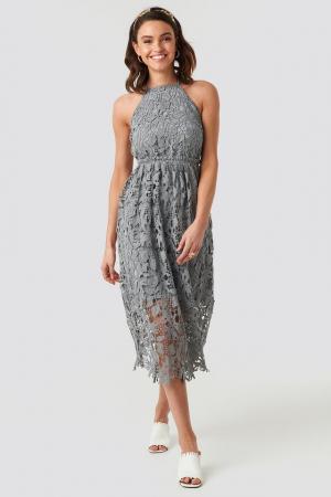 Crochet Strap Back Dress1