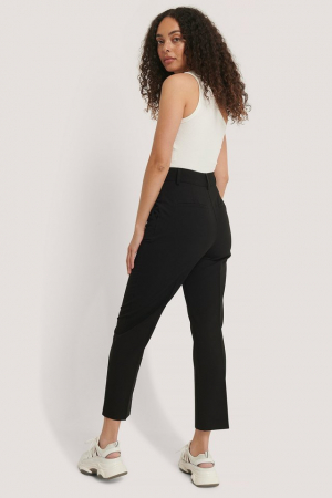 Pantaloni Cropped High Rise Suit2