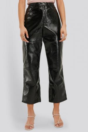 Pantaloni Cropped Patent [2]