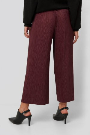Pantaloni Cropped Plisse Culottes2