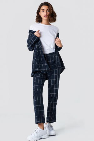 Pantaloni  Suit Cropped Straight0