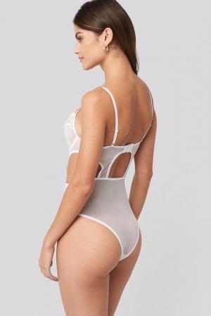 Cut out Lace Bodysuit [1]