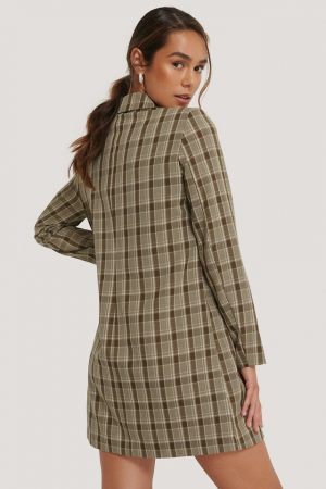 Rochie Sacou Double Breasted Blazer [1]
