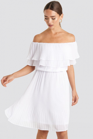 Rochie Double Tier Off Shoulder0