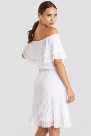 Rochie Double Tier Off Shoulder1