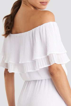 Rochie Double Tier Off Shoulder2