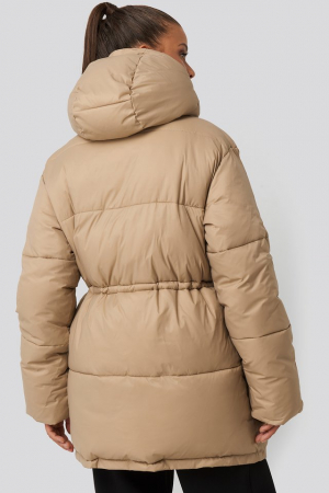 Drawstring Padded Jacket [1]