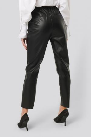 Pantaloni Drawstring PU Seam Detail1