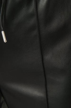 Pantaloni Drawstring PU Seam Detail4