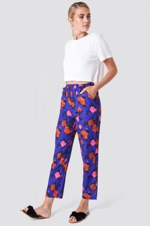 Pantaloni Elastic Waist Straight [3]