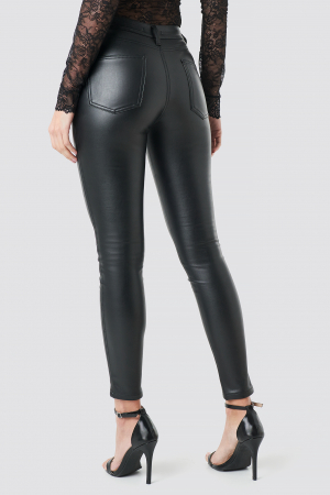 Pantaloni Faux Leather0