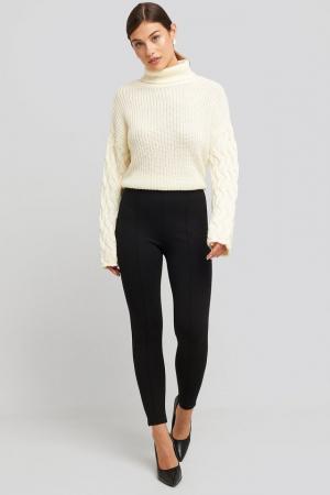 Pantaloni Front Seam Jersey [0]