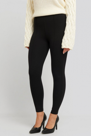 Pantaloni Front Seam Jersey [1]