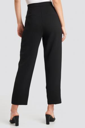 Pantaloni Gathered Waist Suit2