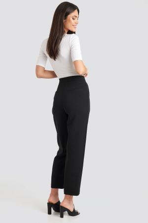 Pantaloni Gathered Waist Suit1
