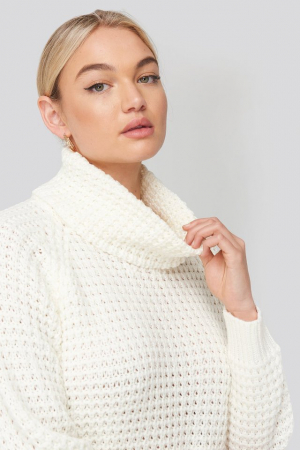 Pulover High Neck Pineapple Knitted [1]