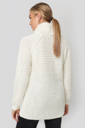 Pulover High Neck Pineapple Knitted [2]