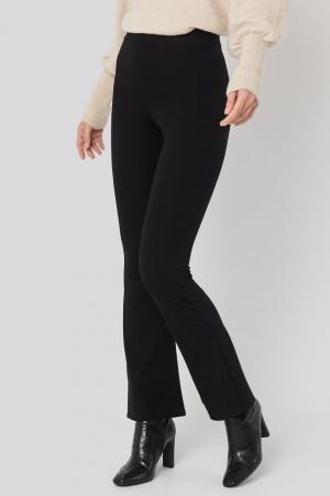 Pantaloni High Waist Flare Jersey [1]