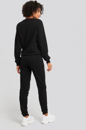 Pantaloni High Waist Slim Leg Jogger3